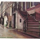GA Savannah Gordon Row 19th C Historic Houses Vintage 4X6 Postcard Jordon