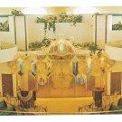 Greek Orthodox Church Frank Lloyd Wright Milwaukee Vtg Postcard Interior