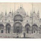 Venezia Venice Italy Chiesa di S Marco Cathedral St Marks Vtg Postcard c 1905