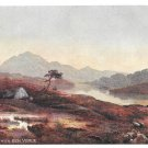 Tuck Oilette Loch Achray Ben Venue Andrew Blair Scottish Lochs 7166 Postcard