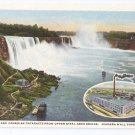 Niagara Wall Papers Co NY Plant Cataracts Curteich Advertising Postcard