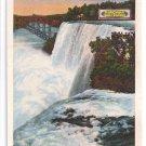 Niagara Wall Papers Co NY Plant Luna Falls Curteich Advertising Postcard