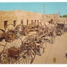 Yuma Territorial Frontier Prison Arizona Tuberculosis Yard Wagons 1966 Postcard