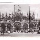 Italy RPPC Venezia Basilica S Marco Real Photo Postcard 1938 Bromostampa Torino