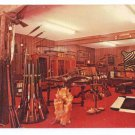 Safari Outfitters Store Ridgefield CT Interior Advertising Postcard Guns Firearms
