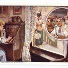 Bell Telephone When Servants Fail Advertising Postcard AT&T  UDB ca 1910