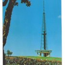 Brasilia TV Tower Brazil Television Tower 1970's Vintage Postcard 4X6