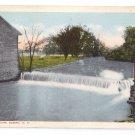 Elmira NY Arnot Mill Dam Vintage Postcard Rubin Bros