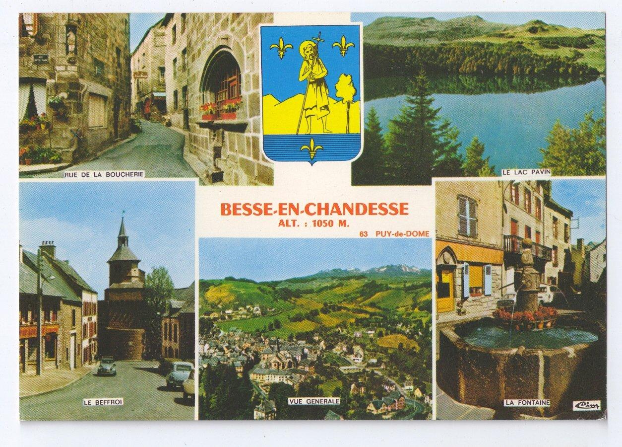 Besse en chandesse et saint anastaise medieval town - Office du tourisme besse en chandesse ...