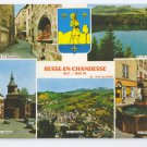 Besse en Chandesse et-Saint-Anastaise Medieval Town Multiview France 4X6 Postcard