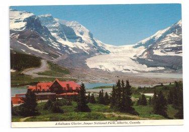 Canada Icefield Chalet Athabasca Glacier Jasper National Park Alberta 4X6 Postcard