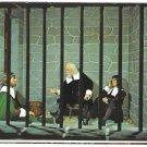 MA Plymouth Wax Museum Boston Jail England Vintage Massachusetts Postcard