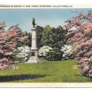 Valley Forge National Park New Jersey Monument Dogwoods Vintage PA Postcard