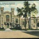 CT Hartford Wadsworth Athenaeum and Davis Spencer Morgan Memorial Postcard Vntg