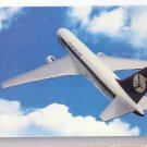 Aviation Polish Airlines LOT Boeing 767 Jet Aircraft Vintage Postcard Airplane