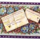 Valentine Postcard  Telegram Message Western Union Vintage 1910 Gottschalk Embossed