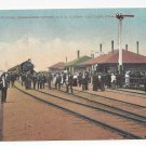 Salt Lake Utah Southern Pacific RR Midlake Train Station Ogden Lucin Postcard