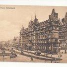 UK England Liverpool Lime Street North Western Railway Hotel J. Valentine Postcard