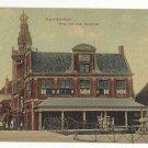 Netherlands Monnikendam Waag met ouda Speeltoren Vintage Postcard c 1910