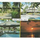 Bali Hyatt Hotel Multiview Swimming Pool Indonesia Vintage Postcard 4X6