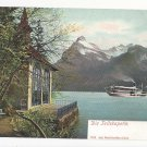 Switzerland Tellskapelle Lake Lucerne Vintage UDB Postcard c 1905