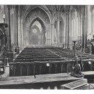 UK London Temple Church The Choir Valentines Series Vintage Postcard