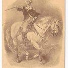 George Washington Horseback Vtg Embossed UDB Patriotic Postcard ca 1910