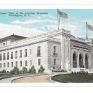 Washington DC International Union of American Republics Garrison Vtg Postcard
