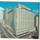 Canada Montreal Queen Elizabeth Hilton Hotel 1971 Vntg Postcard