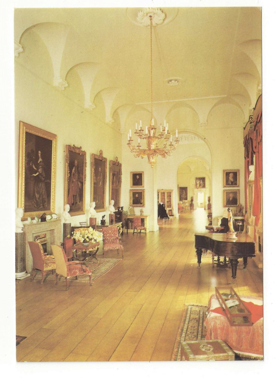 Castle Howard York England UK Long Gallery Interior Vintage Postcard 4X6
