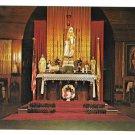 VT Isle La Motte Altar Fort St Anne Shrine Vintage Postcard Vermont