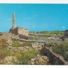 Greece Aigina Aegina Temple of Apollo Vtg Postcard 4X6