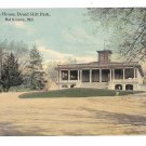 MD Baltimore Mansion House Druid Hill Park Vintage Postcard 1911