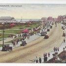 UK Southport England The Promenade Vintage Valentines Postcard
