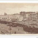 UK Southport England Floral Hall Gardens Vintage Salmon Postcard