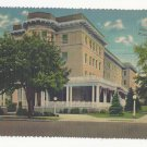 PA Fort Bedford Inn Vintage 1942 Pennsylvania Linen Advertising Postcard Deckle Edge