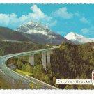 Austria Europabrucke Tirol Tyrol Europa Bridge Alps Postcard 4X6 Vintage