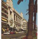 France Nice Promenade Anglais Hotel Palais de la Mediterranee Vintage Postcard 4X6