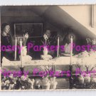 Post Mortem RPPC Beautiful Lady Candles Flowers Women Viewing Coffin Sunlight