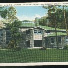 New Montreat Auditorium Presbyterian Assembly Grounds Montreat NC Vintage 1920's Curteich Postcard