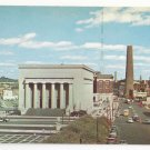 Baltimore MD War Memorial Plaza and Shot Tower Vtg D Traub Maryland Postcard
