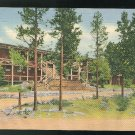CO Grand Lake Lodge Rocky Mountain National Park Colorado 1936 Curteich Linen Postcard