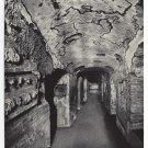 Roma Italy Rome Catacomb di S. Domitilla Gallery Flaviens Vtg Postcard 4X6