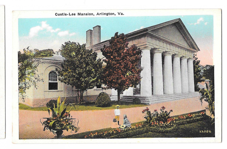 Arlington va curtis lee mansion vtg b s reynolds virginia for 1 garden terrace north arlington nj
