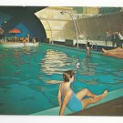 NJ Atlantic City Shelburne Hotel Indoor Swimming Pool Advertising Postcard