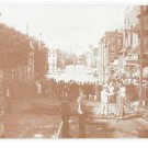 York PA 1933 Florence Wertz Flood Photo West Market Street 1970's Vintage Postcard