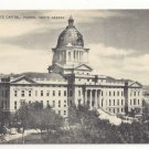 SD Pierre South Dakota State Capitol Vintage 1940s Mayrose Co Postcard