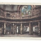 Boston MA State House Interior Tichnor Vintage Postcard 1924