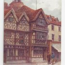 UK Stratford on Avon Harvard House Garrick Inn J Salmon W.W. Quatremain Vintage Postcard
