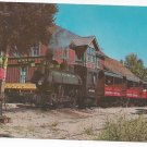 RR Depot Short Line Steam Engine Train Nevada City Montana Postcard 1976
